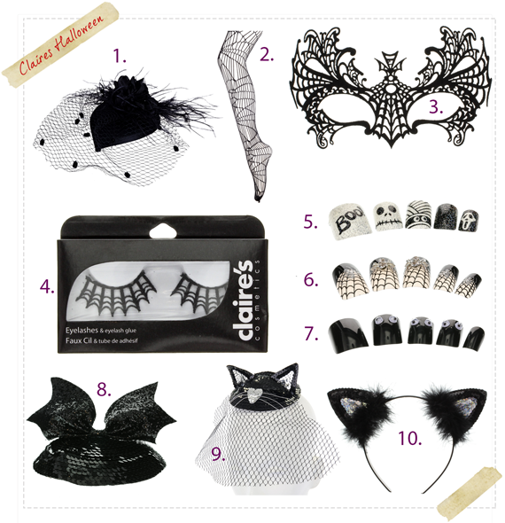 Claires Halloween accessories ideas