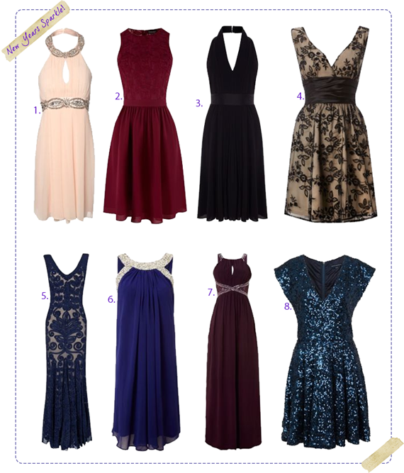 House of Fraser New Years Party Dress Favourites Wishlist
