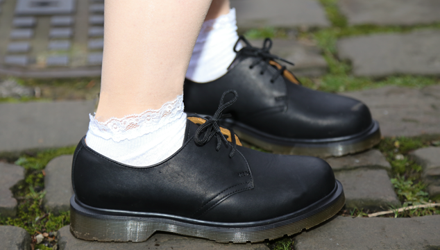 Dr Martens 1461-59 Black Greasy