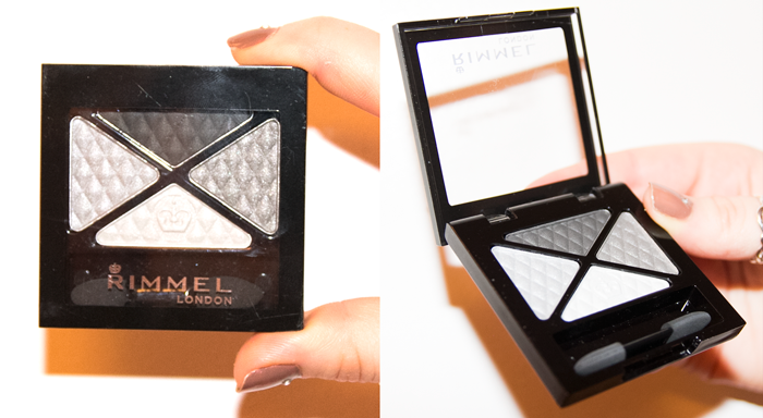 Rimmel Glam Eyes Quad Eye Shadow Smokey Noir