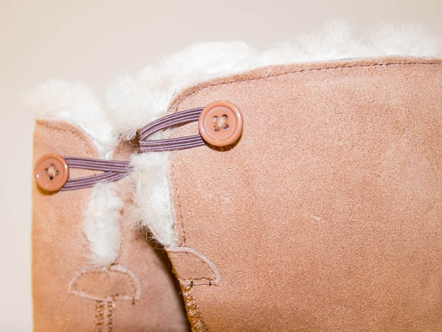 Sheepland slipper boot toggle