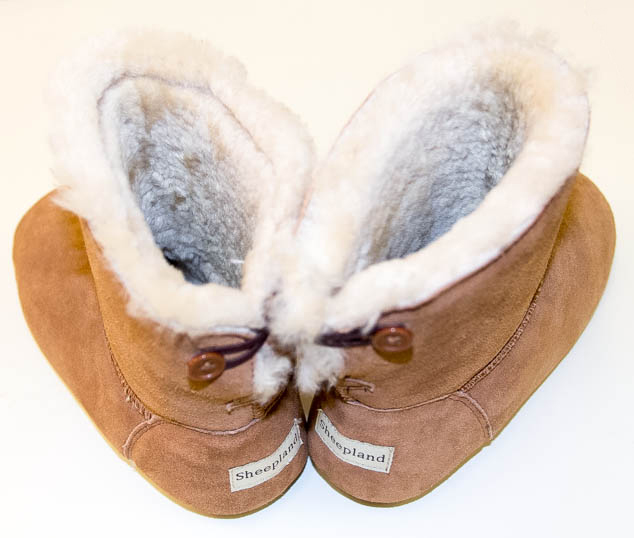 Sheepland slipper boot sheepskin ltd