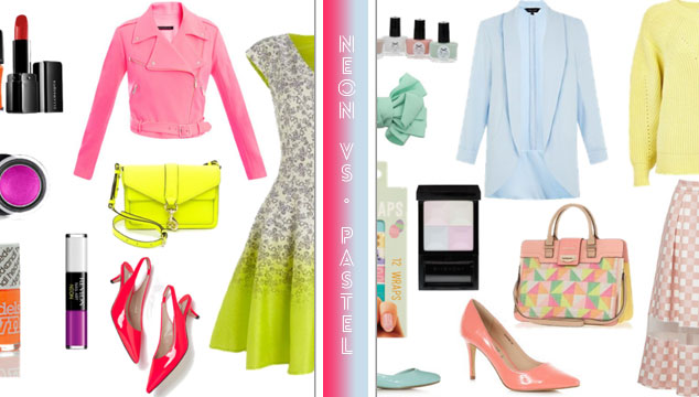 Neon vs Pastel Wishlist