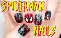 Spiderman Nail Art Tutorial