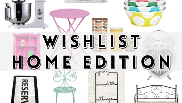 Home Decoration 2014 Wish List