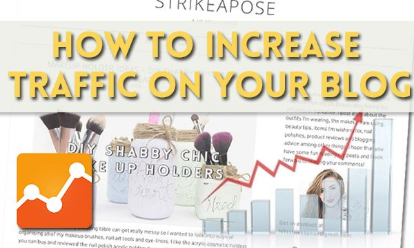 how to increase traffic on your blog