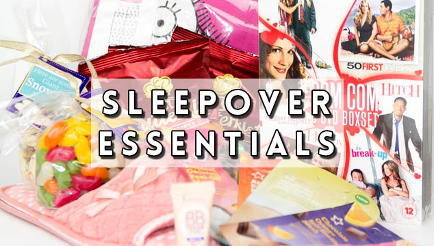 sleepover essentials featured