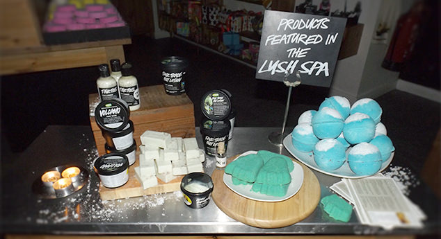 Lush Beauty Blogger Event