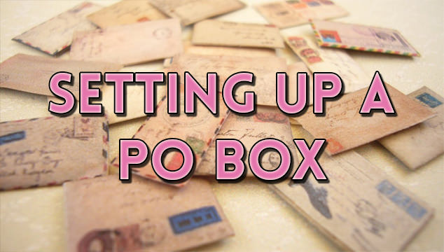 HOW TO SET UP A PO BOX