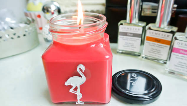 Flamingo Candles - Christmas Scents