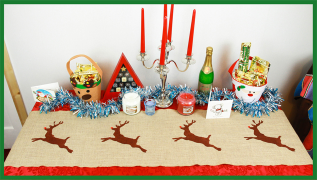 christmas christmas runner  diy 4.jpg table nordic
