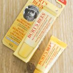 Burts Bees squeezable beeswax lip balm with vitamin E and peppermint