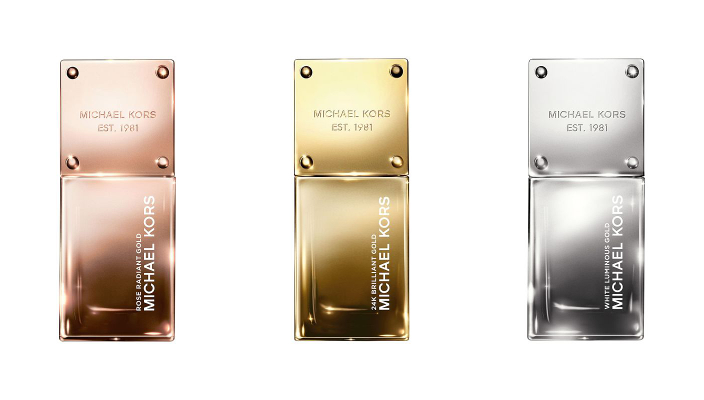 michael kors gold fragrance collection 2015
