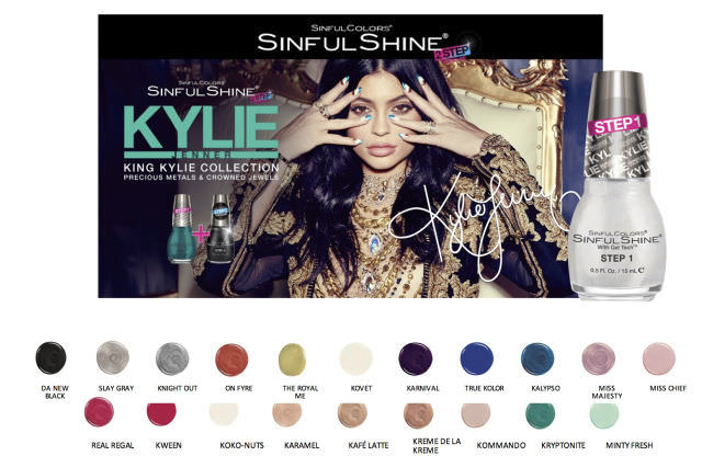 Kylie Jenner Nail Collection