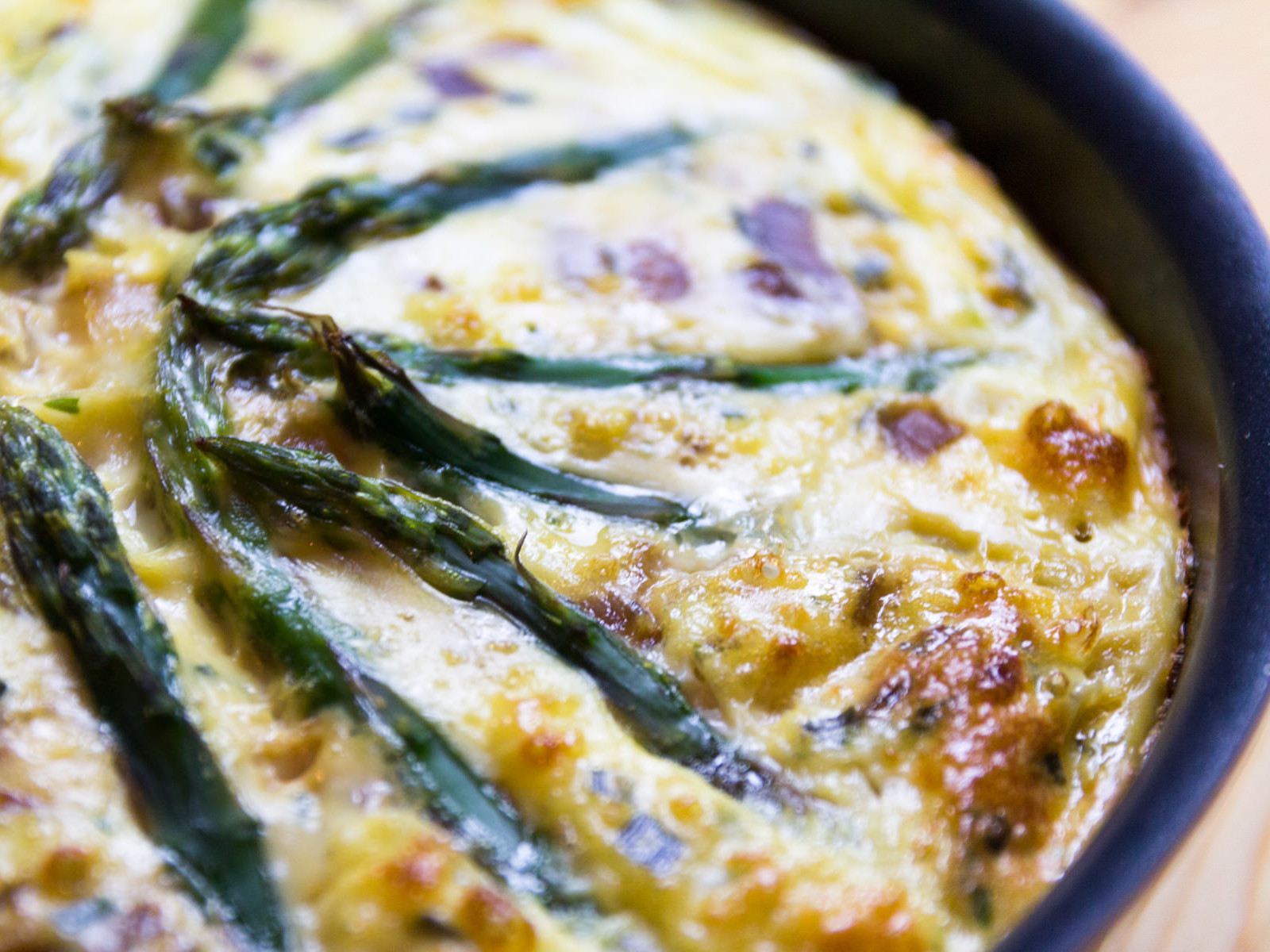 Slimming World Quiche Syn Free Asparagus Chive And