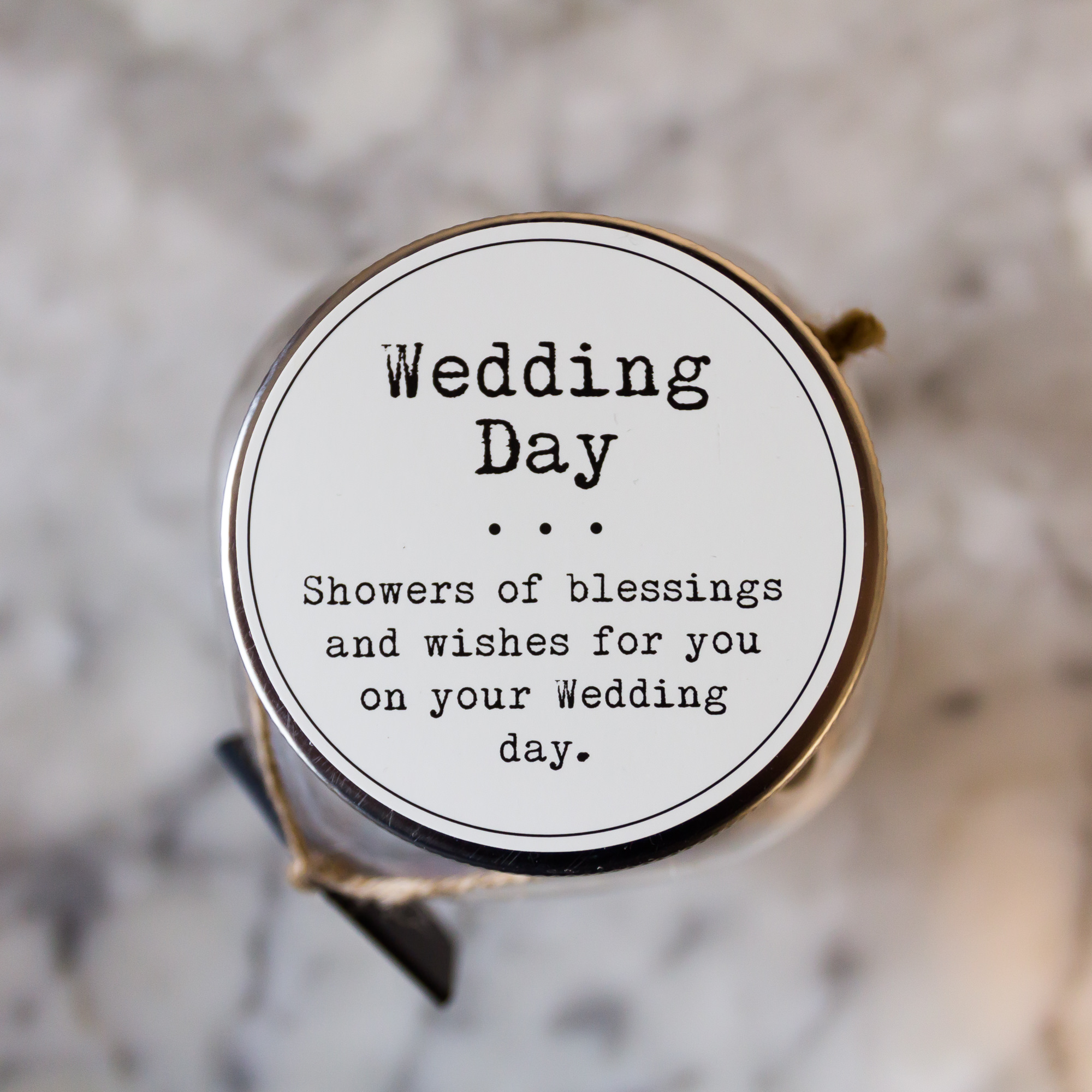 Wedding Wishes - Wedding Wish Jar