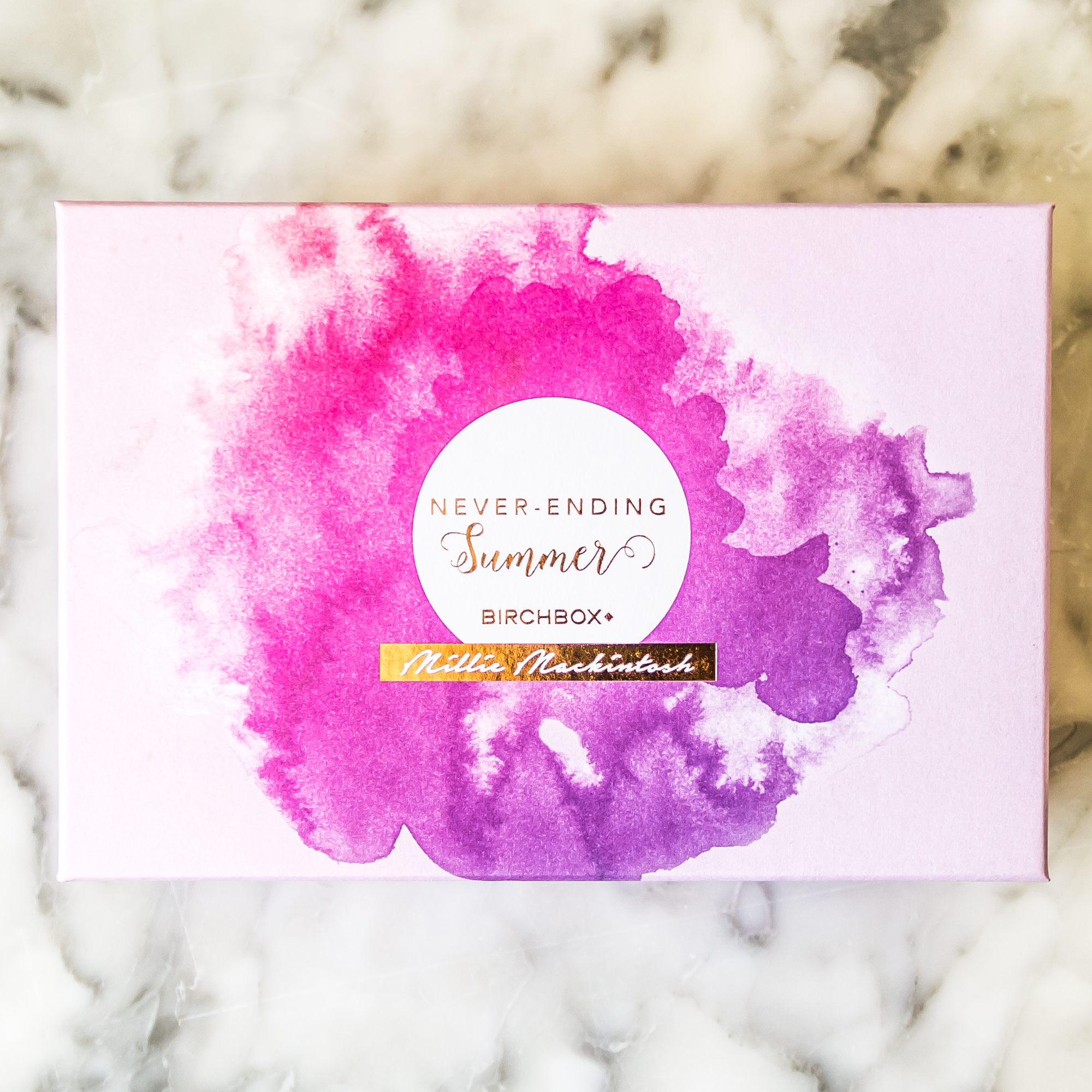 Birchbox UK July Never Ending Summer