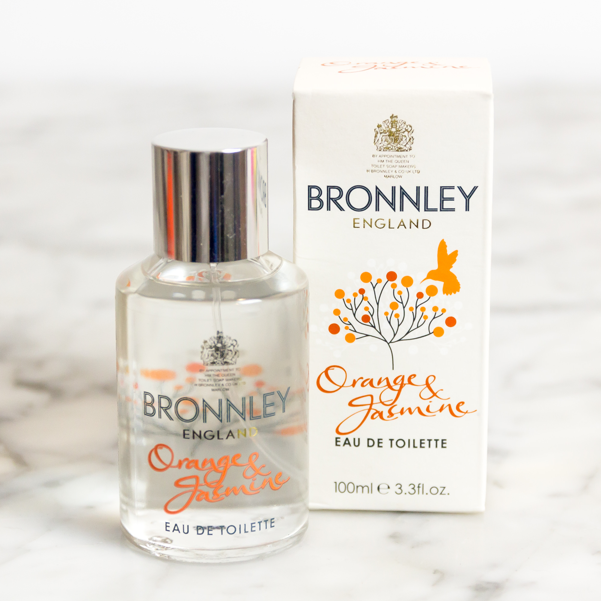 Bronnley England Orange And Jasmine