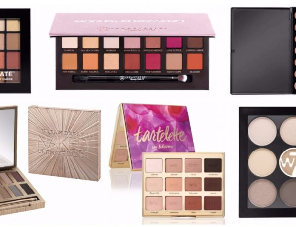 6 Warm Toned Eyeshadow Palettes for Winter