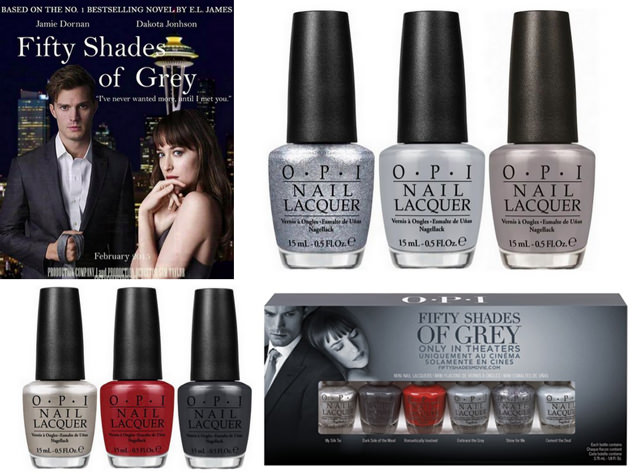 Opi Fifty Shades Of Grey Limited Edition Collection