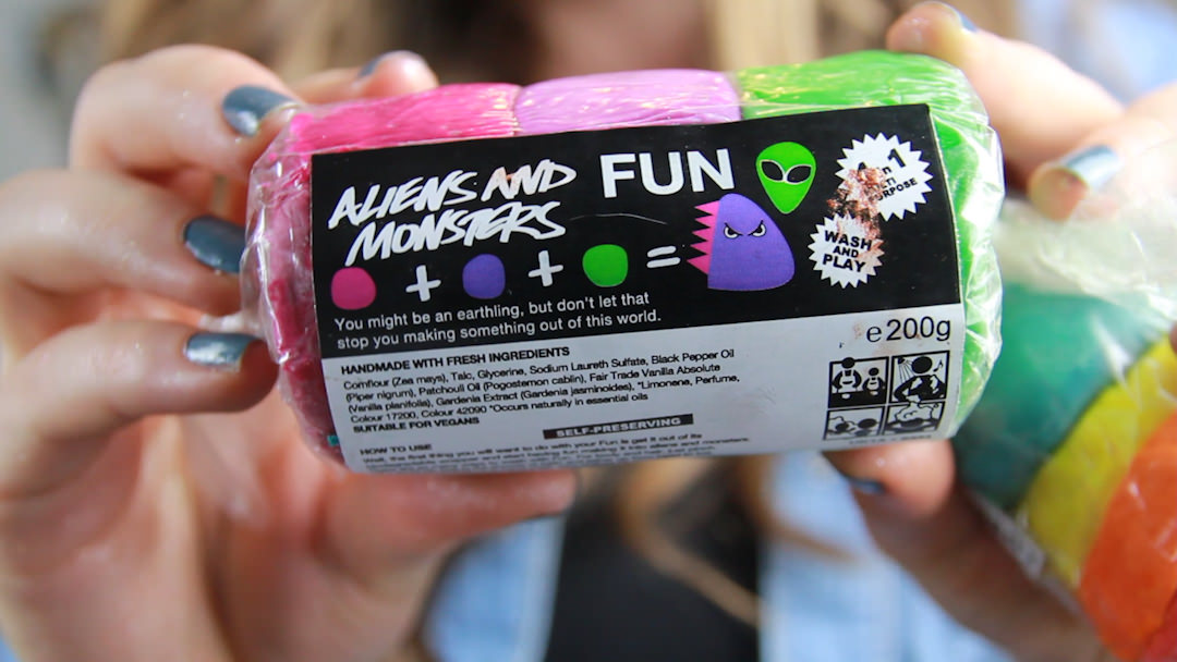 lush oxford street aliens and monsters fun