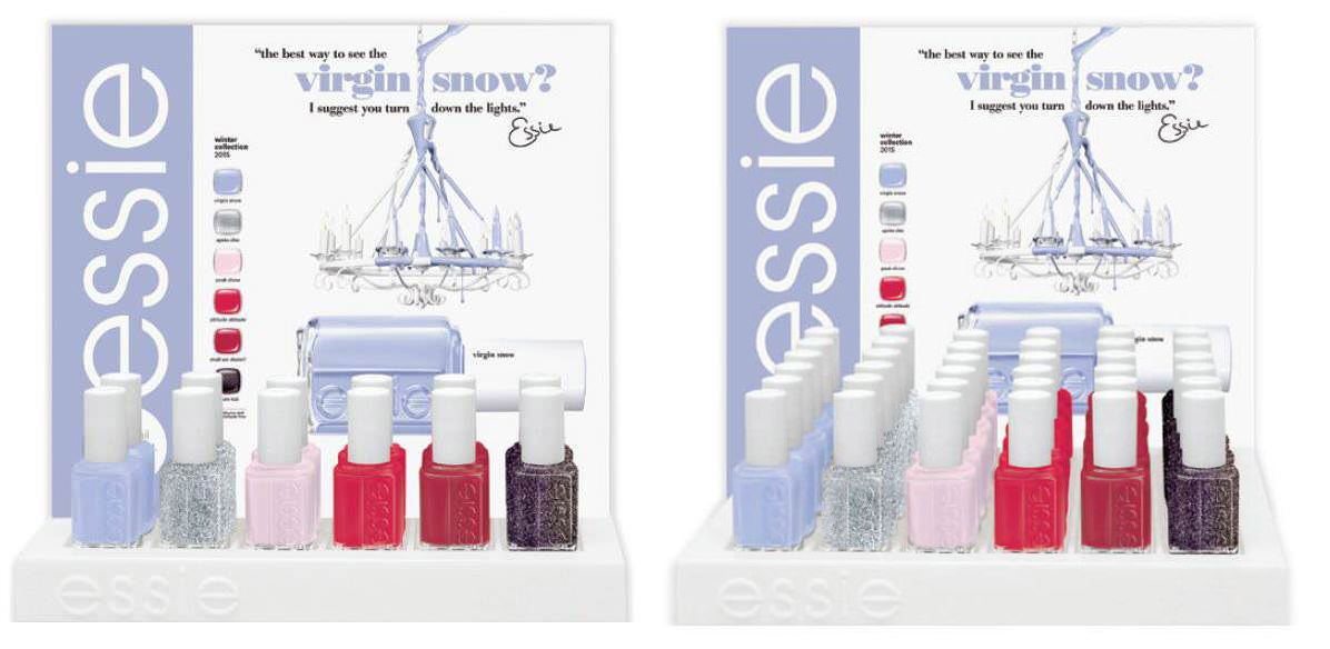 Essie Winter 2015 Virgin Snow Collection