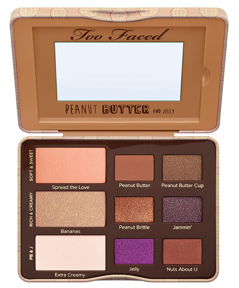 Too Faced Cosmetics Peanut Butter and Jelly Eye Shadow Collection34