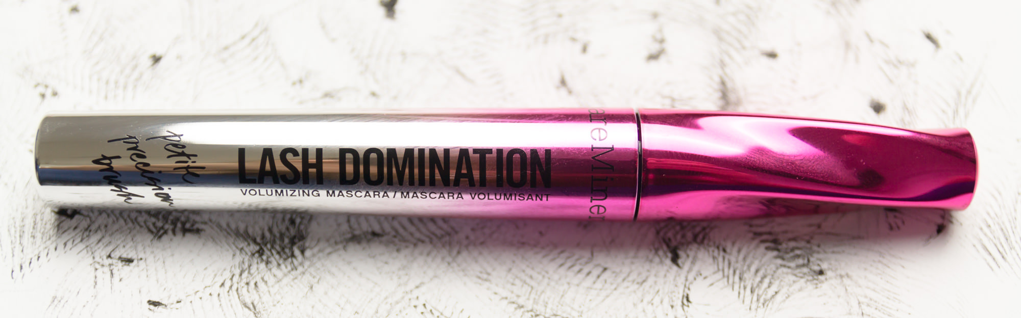 bareMinerals Lash Domination Volumizing Mascara Petite Precision Brush Review