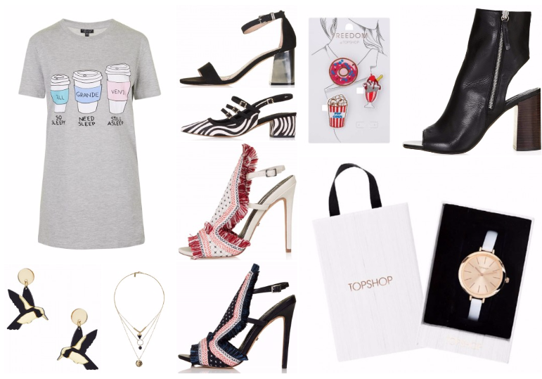 topshop new in accessories