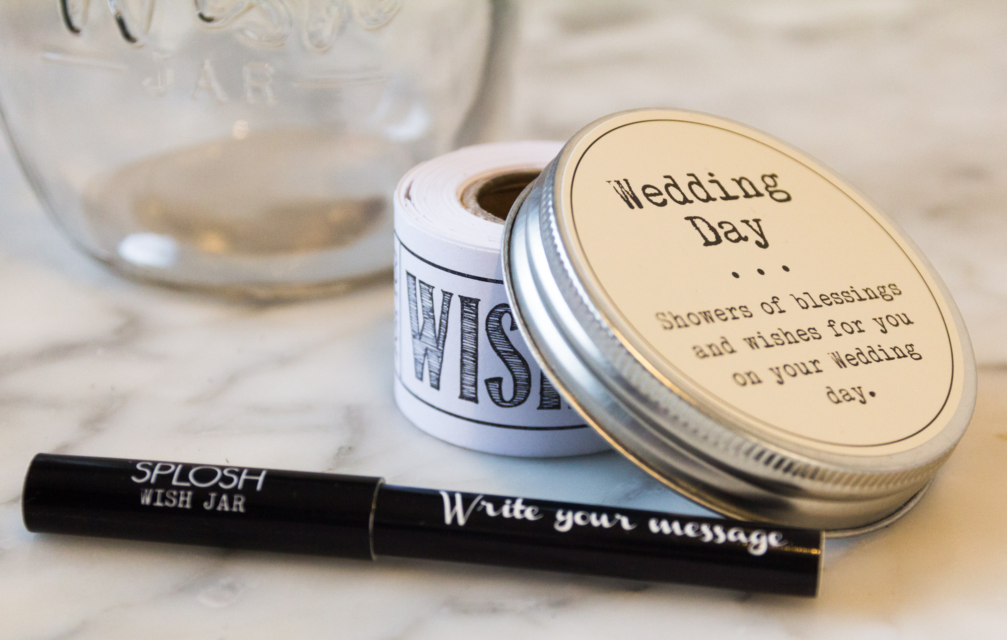 Wedding Wishes - Wedding Wish Jar
