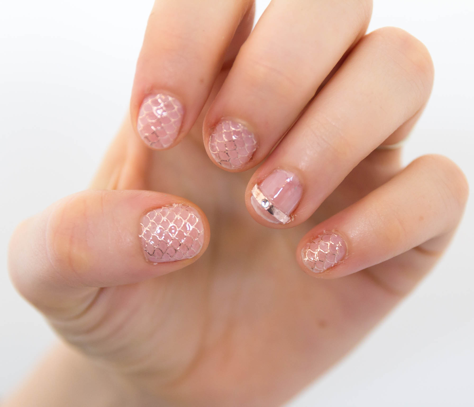 essence cosmetics jewelry nail stickers