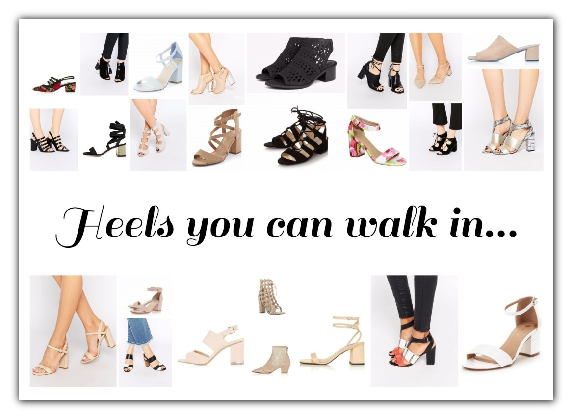 Heels you can walk in