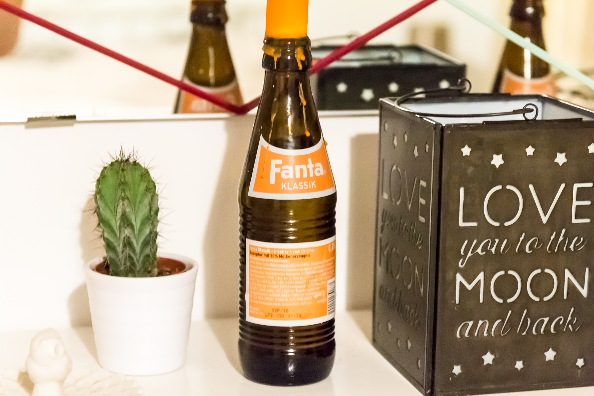 Upcycle DIY Home Decor Fanta Klassik