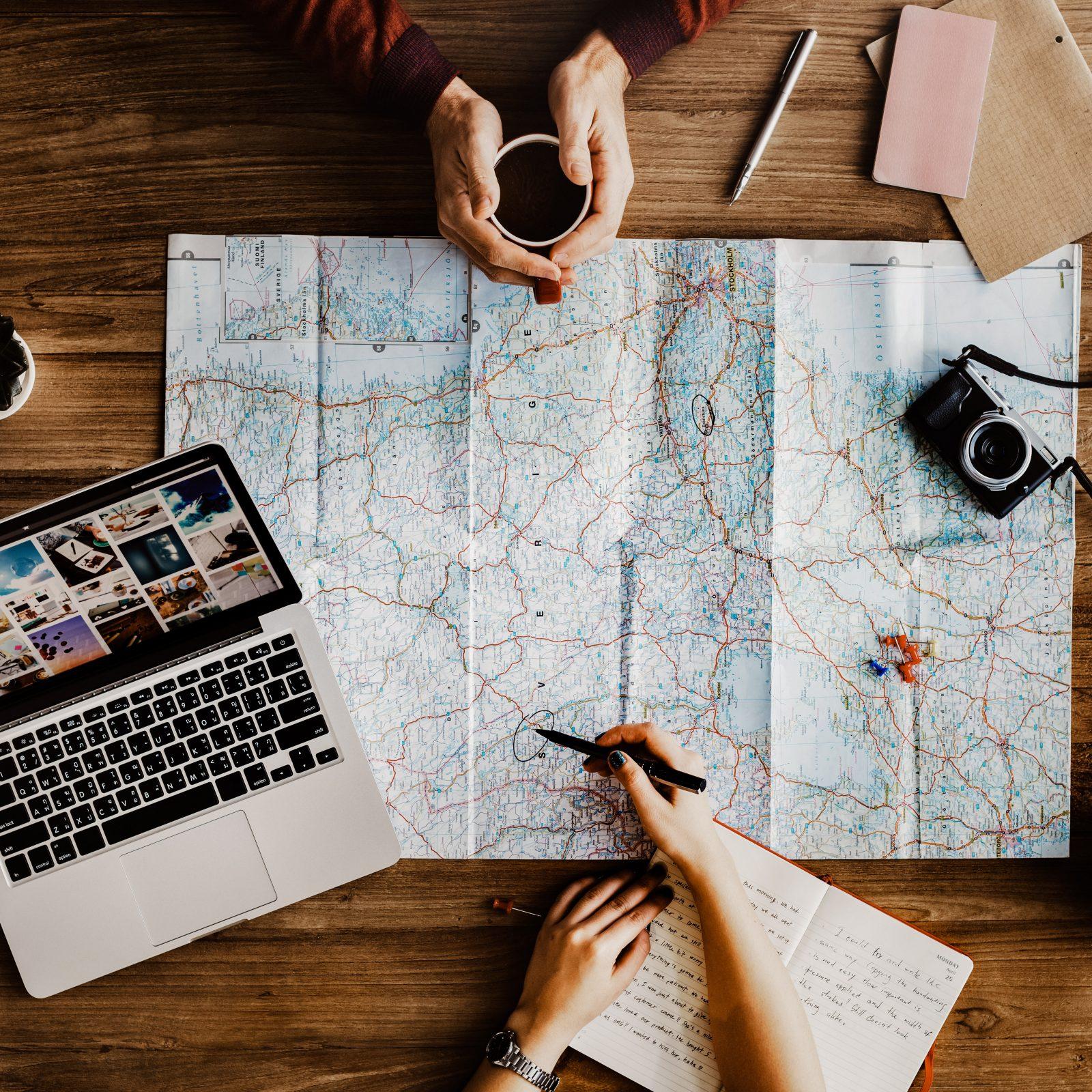 map roadtrip planning travel