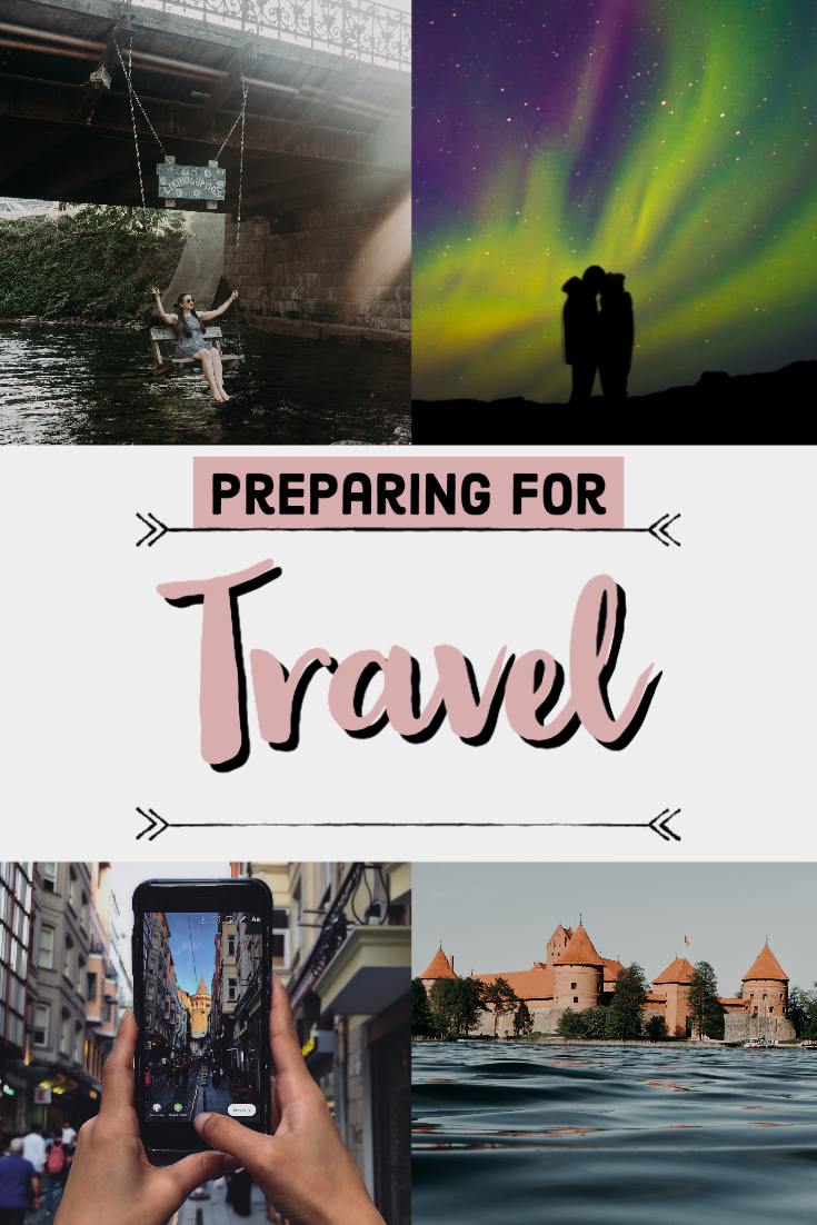 Preparing for travelling 1