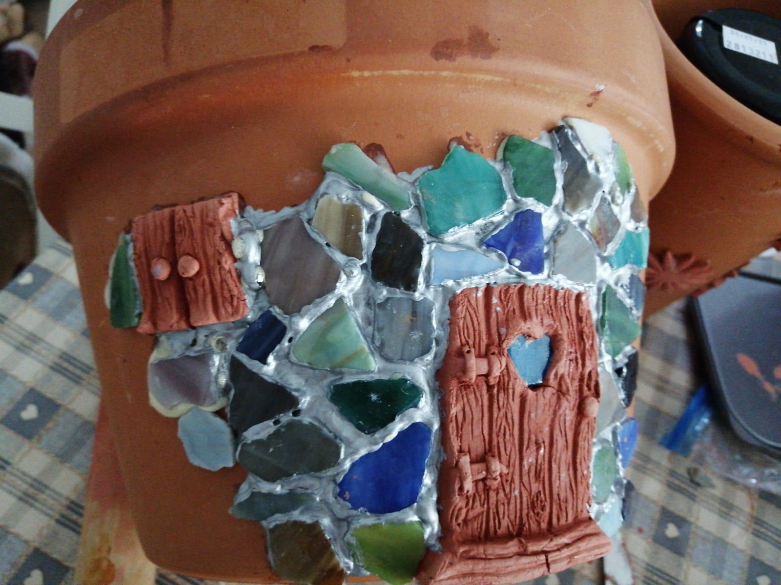 DIY Fairy Door Plant Pot 2