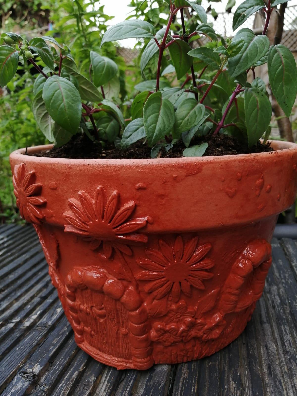DIY Fairy Door Plant Pot 1